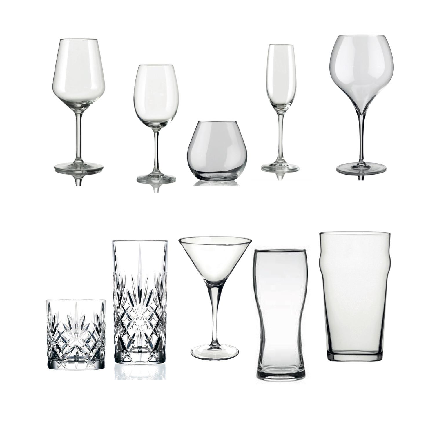 Glas fra Italien