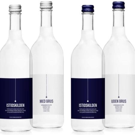 Istidskilden naturligt mineralvand uden brus 0.75 L