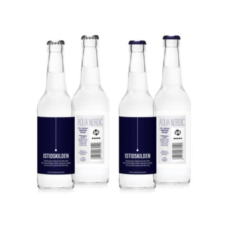Istidskilden naturligt mineralvand med brus 0.33 L